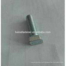 Cabeça de losango T tipo de parafuso, zinco em forma de T parafuso, personalizado T parafusos