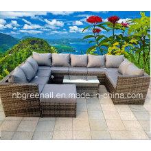 Современная европейская гостиница Rattan Patio Outdoor Furniture (GN-9104S)