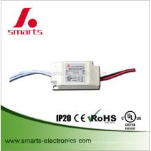 UL IP20 courant constant 350ma 6w 9w plastique ac à dc driver LED pour MR16
