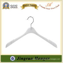 Novo Design Custom Clothes Portador White Plastic Hanger Maker