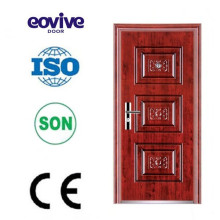 New design residential surface finish security door E-ST045