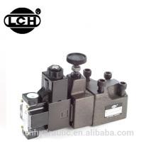 yuken maquinaria válvula de controle de pressão solenóide hidráulica 24
