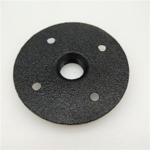 Sand blasted floor flange 1/2'' and 3/4''