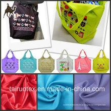 Tela 100% de nylon de Taslon para a tela do saco e a tela do vestuário