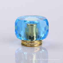 Fabricante competitivo UV Collar Gema azul Surlyn Perfume Cap