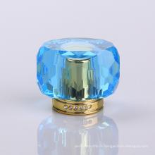 Chapeau de parfum bleu de gemme de Surlyn de gemme de fabricant concurrentiel de fabricant
