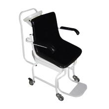 Escala electrónica del sillón de ruedas