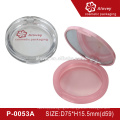 compact powder plastic case with mirror