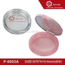 Caja compacta en polvo con espejo