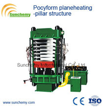 Pillar Structure Pocyform Planeheating Vulcanizer/Press