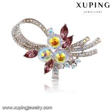 00031 guangzhou bijoux broche de sécurité à la mode broche aimant accessoires pour les bijoux pour femmes Cristaux de Swarovski