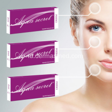 Sertifikasi CE HA Dermal Filler Hyaluronate Acid Gel