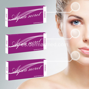 Certificación CE HA Dermal Filler Hyaluronate Acid Gel