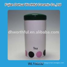 Promotion ceramic storage tank for tea