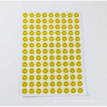 La moda decorativa del arte embroma la etiqueta engomada clara de la resina de epoxy de la impresión de la resina, etiqueta engomada de encargo de la bóveda del epoxy 3D