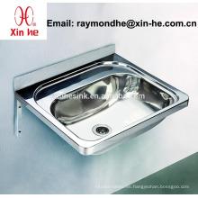 Australia Commercial Wall Hung lavabo de lavado de manos de acero inoxidable Lavabo de la bañera