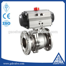 Pneumatic flanged gas type Ball Valve