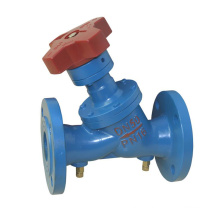 China made wcb flanged static balancing valve 2''