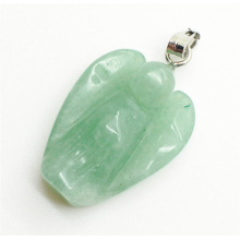 Angel Shape Green Aventurine pendant