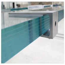 sgp film waterproof hurricane tempered toughened laminated glass panel for window balcony railing curtain wall