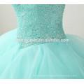 2017 round neck a line floor length layered wedding dress luxury heavy sleevelss handmade Organza ball gown wedding dress
