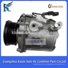 12V MSCS90C acondicionador de aire r134a compresor de aire acondicionado para Mitsubishi Outlander 2010