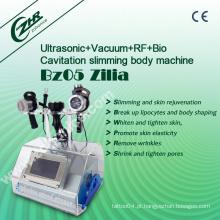 Zilia Top Ultra Cavitação Lipoaspiração Machine + Vacuum RF