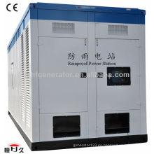 Generador de contenedores eléctricos a prueba de lluvia 30kw