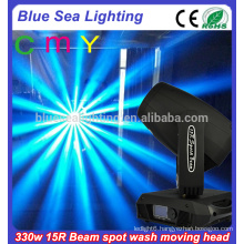 15r 330w 3in1CMY wash spot beam sharpy moving head light