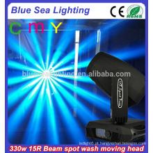 15r 330w 3in1CMY lavar spot feixe sharpy movendo cabeça luz