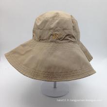 Capuchon décapant décontracté de haute qualité en forme de blanc (ACEK0121)