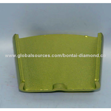 H Slide 1/4PCD diamond metal grinding pad