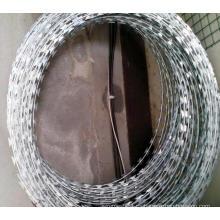 Alambre de afeitar Galvanizado Hot-Dipped de la Concertina Q195 10kgs / Roll