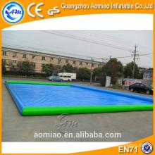 2016 piscina rectangular inflable más grande, piscina inflable cuadrado