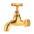 brass bibcock/tap/faucet Hpb 57-3 material with forged new bonnet nickel-plated one way cw617n manual power hydraulic