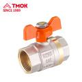 Good price brass material straight through brass ball valve