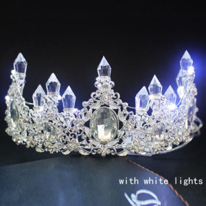 Atacado de Light Up Princess Crowns
