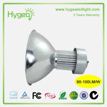 high power led high bay light 100W 3 year warranty industrial led high bay light fixture