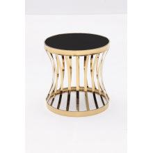 Mode Living Size Titanium + Table basse en verre