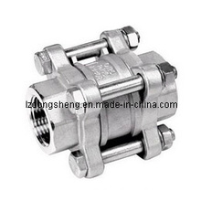 3-PC Spring Loaded Check Valve