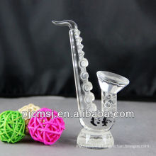 wholesale crystal Saxophone for souvenirs