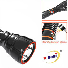 Rechargeable LED Metal Torch Spot in Dubai