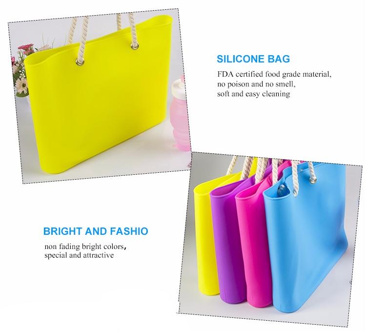 silicone purse