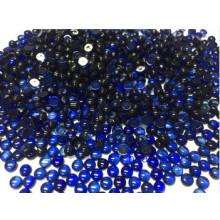 Created Sapphire Round Cabochon Gemstones