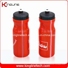 Plastik-Sport-Wasser-Flasche, Plastik-Sport-Wasser-Flasche, 700ml Plastik-Getränk-Flasche (KL-6750)