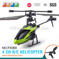 Feilun FX069 2.4G 4ch six axis gyro control small rc helicopter for sale CE/FCC/ASTM certificate