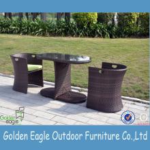 Garden Treasures Mobilier d'extérieur Armed Chair 3pcs