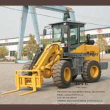 Telescopic Mini Wheel Loader  2T for Agriculture