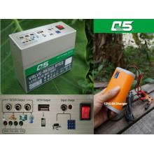 12V7AH La batería va con el inversor Utilice el plan de fuente al aire libre de la fuente de alimentación (multiusos) de la baja tensión 12V
