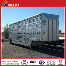 Three BPW Axles Steel Suspension Horse Trailer